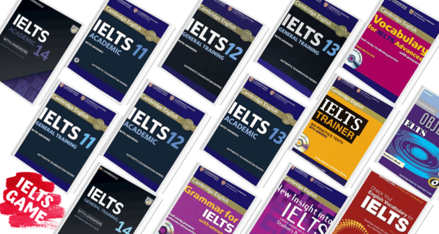 Cambridge IELTS books 1 - 14