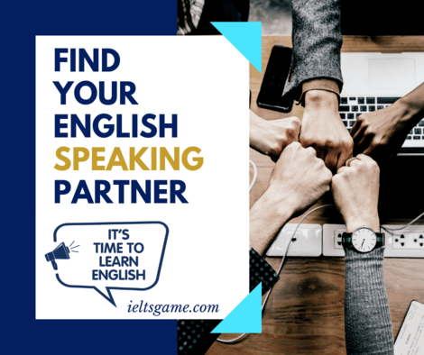 Find your English speaking partner