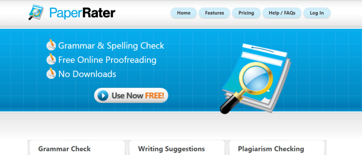 Paper rater website
