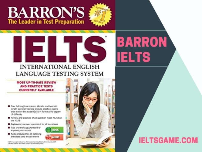Barron IELTS book
