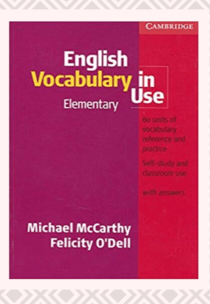 Download English Vocabulary in Use Elementary Book PDF​