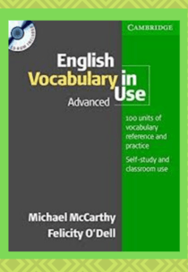 Download English vocabulary in use Advanced Book PDF​