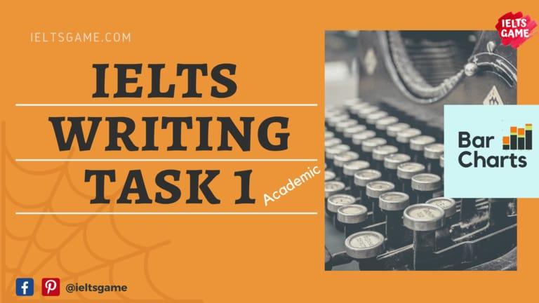 IELTS Writing task 1 exercises - Bar Charts