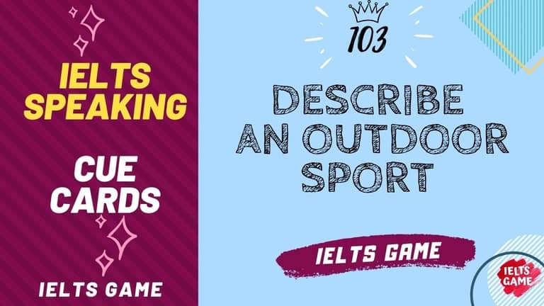 Describe an outdoor sport that you would like to do