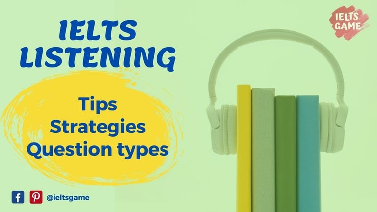 IELTS Listening tips and strategies
