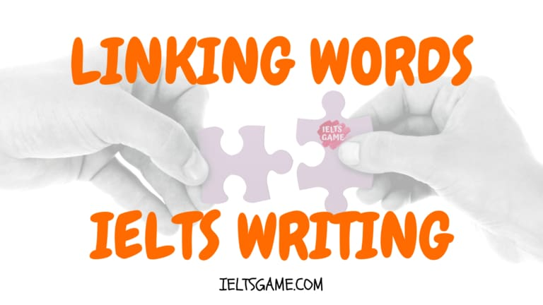 Linking words in IELTS Writing