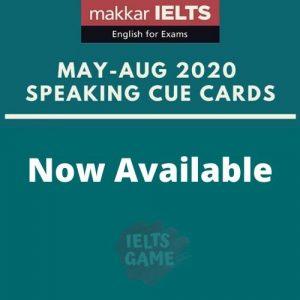 Makkar IELTS Speaking May-Aug 2020 - PDF Edition