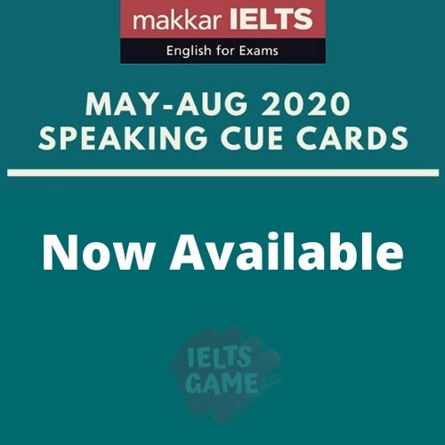 Makkar IELTS Speaking May-Aug 2020 - PDF Edition