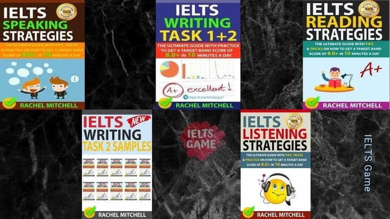 Rachel Mitchell IELTS books