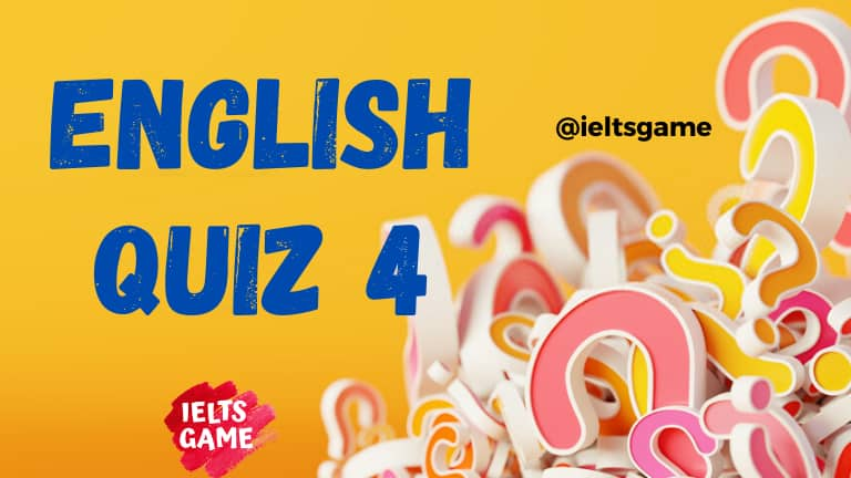 English quiz grammar 4