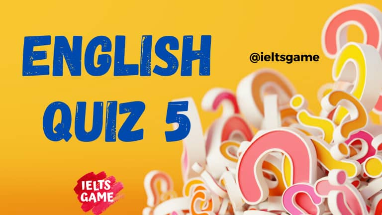 English quiz grammar 5