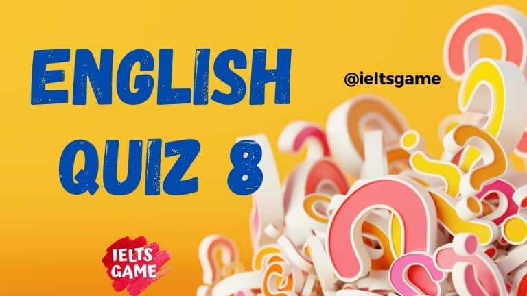 English quiz grammar 8