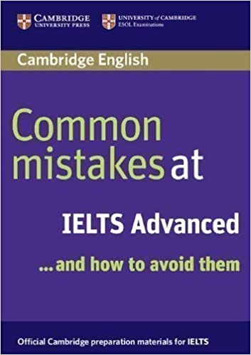common mistakes at ielts advanced book
