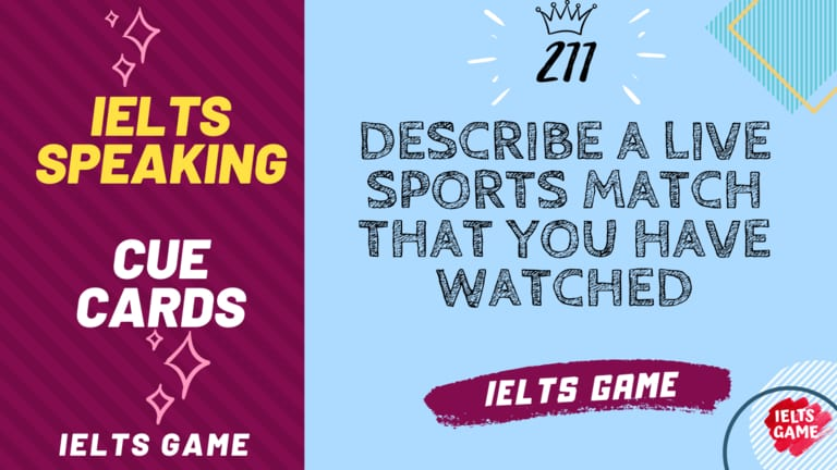 Describe a live sports match that you have watched